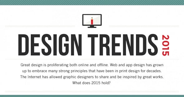Infographic: Continuing and New Design Trends in 2015