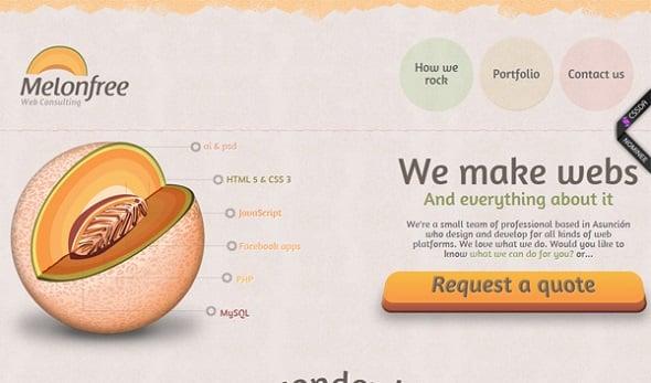 Subtle Pastel Color Schemes in Web Design