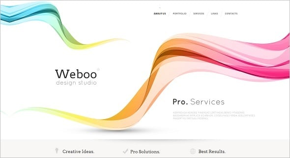 Best Website templates 2014 - Web Design Studio Template