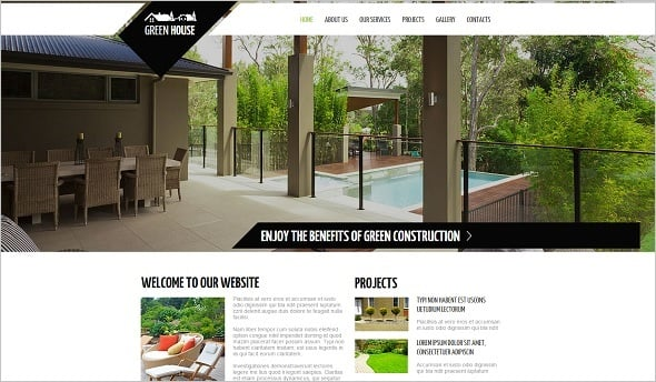 Best Website templates 2014 - Landscape Design Studio Web Template