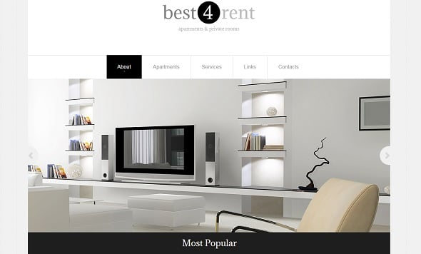 Best Website templates 2014 - Real Estate Agency Website Template