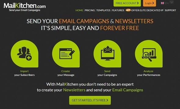 Email Marketing - MailKitchen