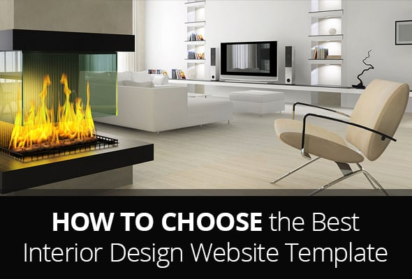 Interior Design Website Templates - Main