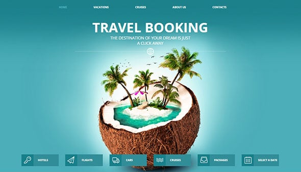 Emotional Web Design Travel