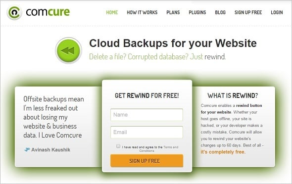 Website Backup Tips - ComCure