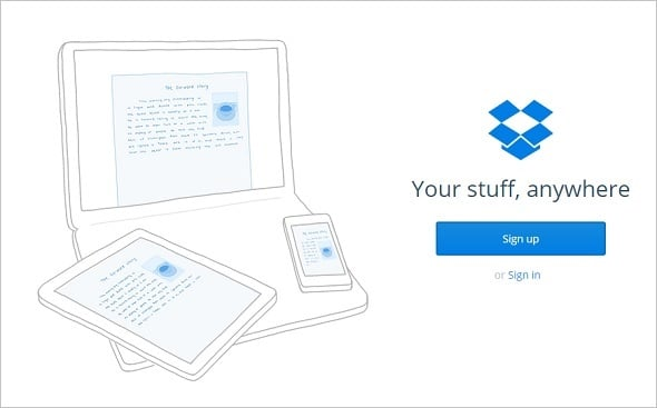 Website Backup Tips - Dropbox