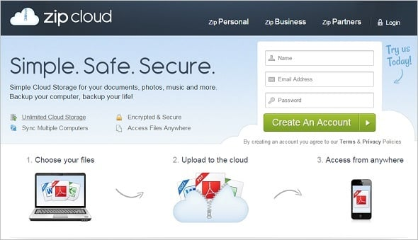 Website Backup Tips - ZipCloud