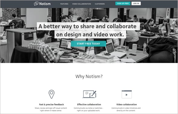 Notism Collaboration Tool