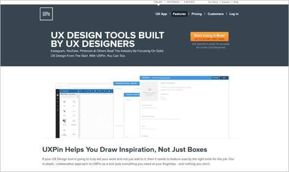 UX Design Tools 2015 UXPin