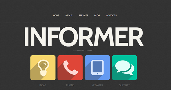 Ux Trends of 2015 Flat Design