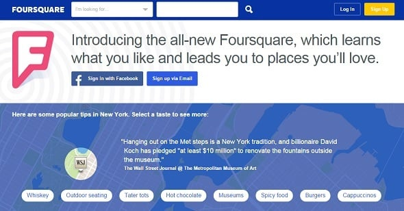 Local SEO Tips - Foursquare