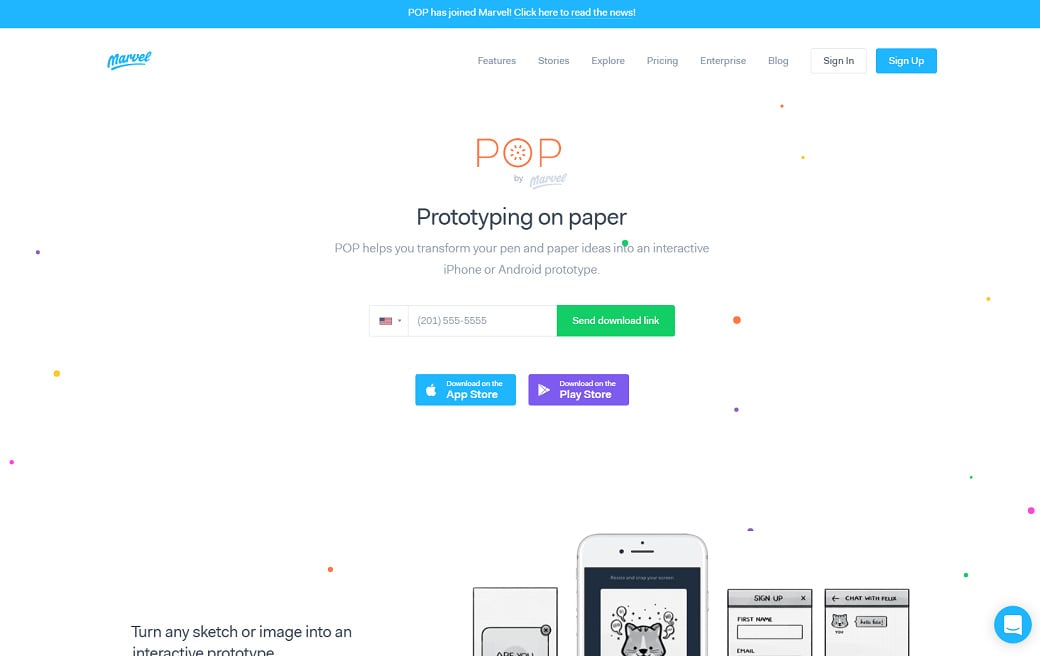 UX design tools - POP