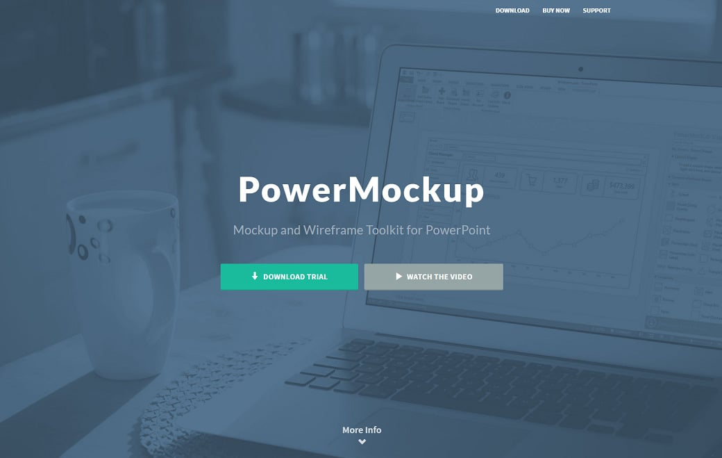 UX design tools - powermockup