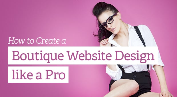 Create Boutique Website Design Main