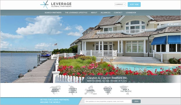 Leverage Real Estate Web Design