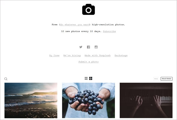 Photo Portfolio Trends 2015 Scrolling