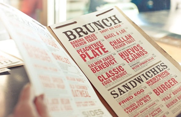 Design Shack - 10 Tips for Delicious Menu Design