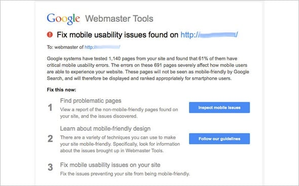 Smashing Magazine - Assessing Mobile Usability With Google Webmaster Tools