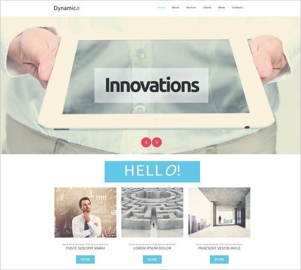 MotoCMS 3.0 Responsive Website Templates - Business