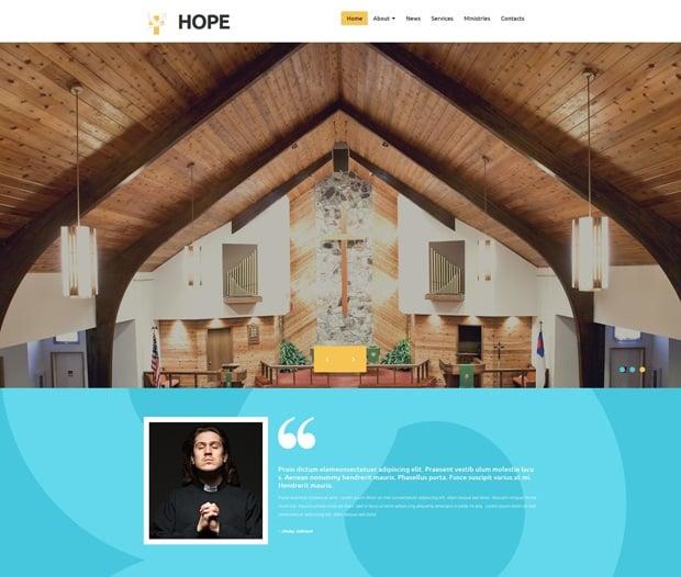 MotoCMS 3.0 Responsive Website Templates - Religious