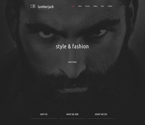 MotoCMS 3.0 Responsive Website Templates - Photography
