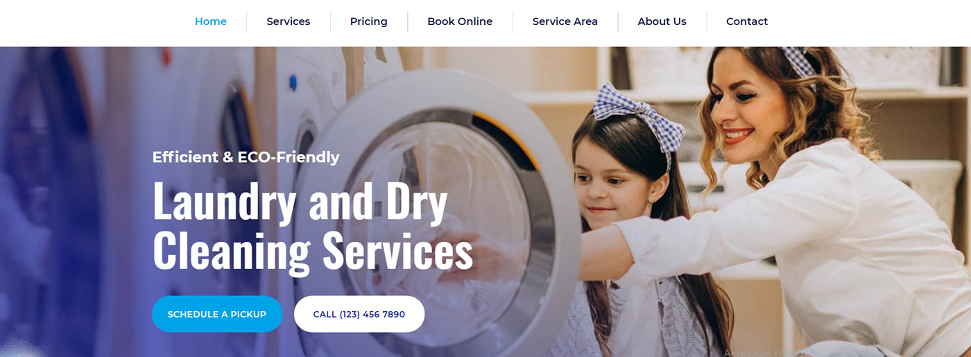 Maintenance Service Company - Cleaning Website