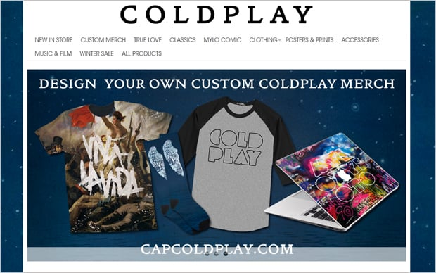 Band Website Design Store
