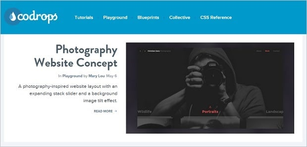 Best Web Design Blogs 2015 - codrops