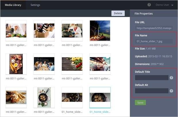Image Optimization Tips - MotoCMS 3.0