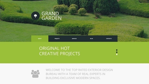Creating a Startup Website - Garden template