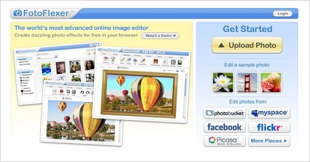 Image Editing Software - FotoFlexer