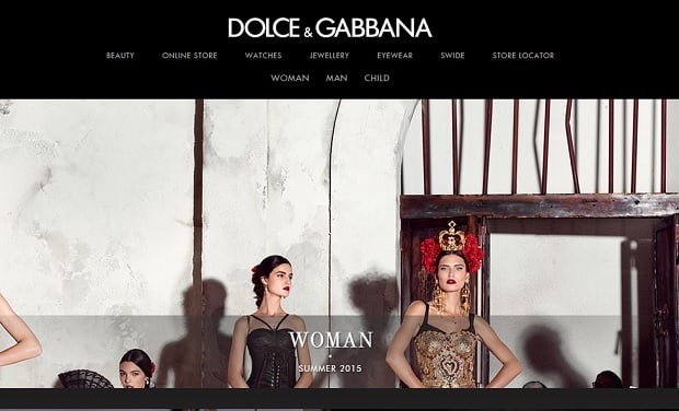 Logo Design Tips 2015 - Dolce & Gabbana