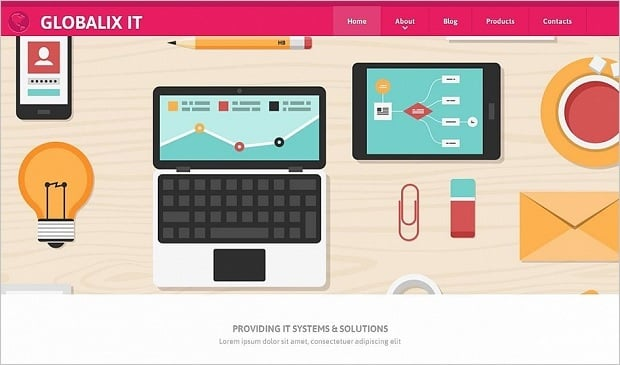 Flat Design vs Material Design - IT services