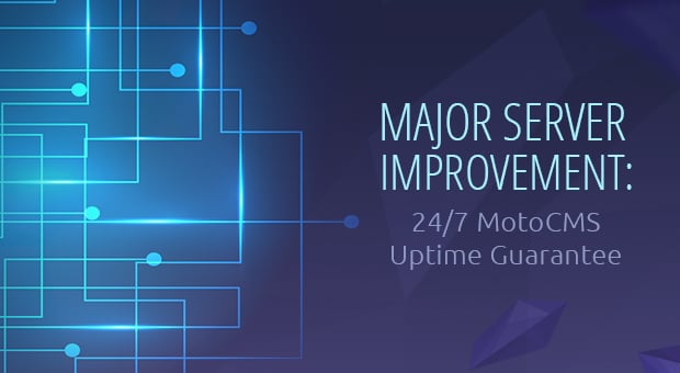 MotoCMS Uptime Improvement - main