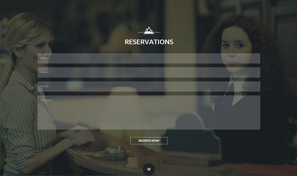 Responsive Design Mistakes - Hotel Template