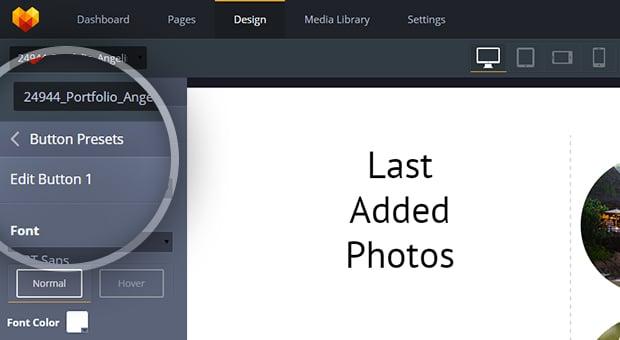 MotoCMS 3.0.8 Update - widget presets