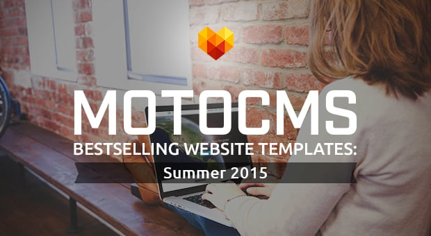 Bestselling website templates summer 2015 -  main