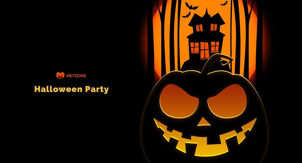 free halloween desktop wallpaper pumpkin party