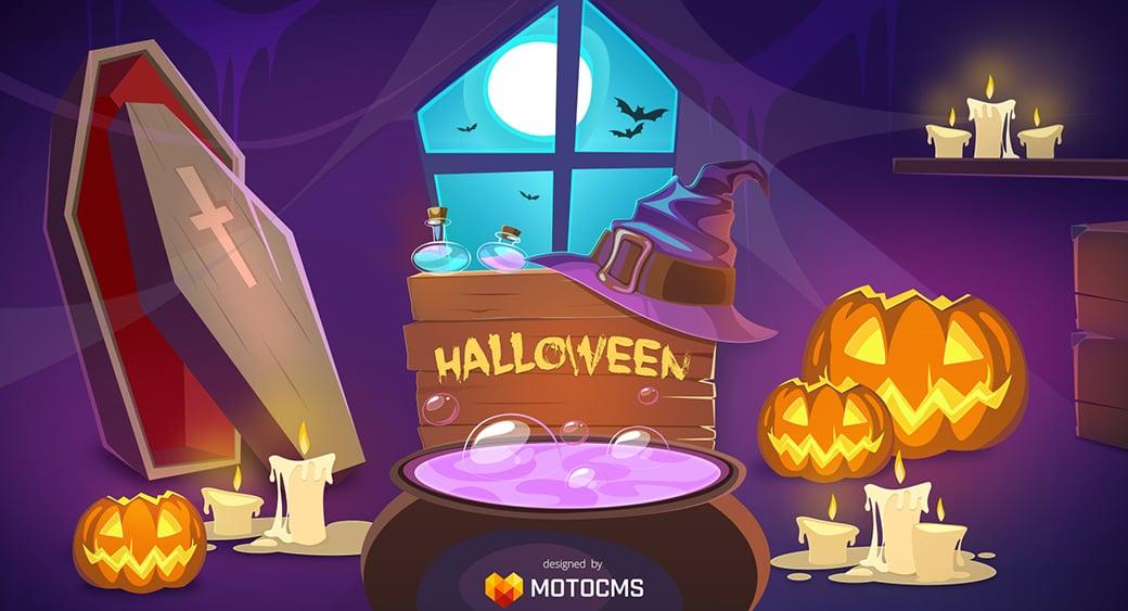 бесплатные обои на Хэллоуин
