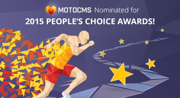 MotoCMS nominated for 2015 People's Choice Awards - main