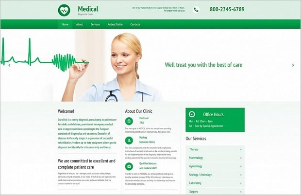 дизайн медицинских сайтов - 55395