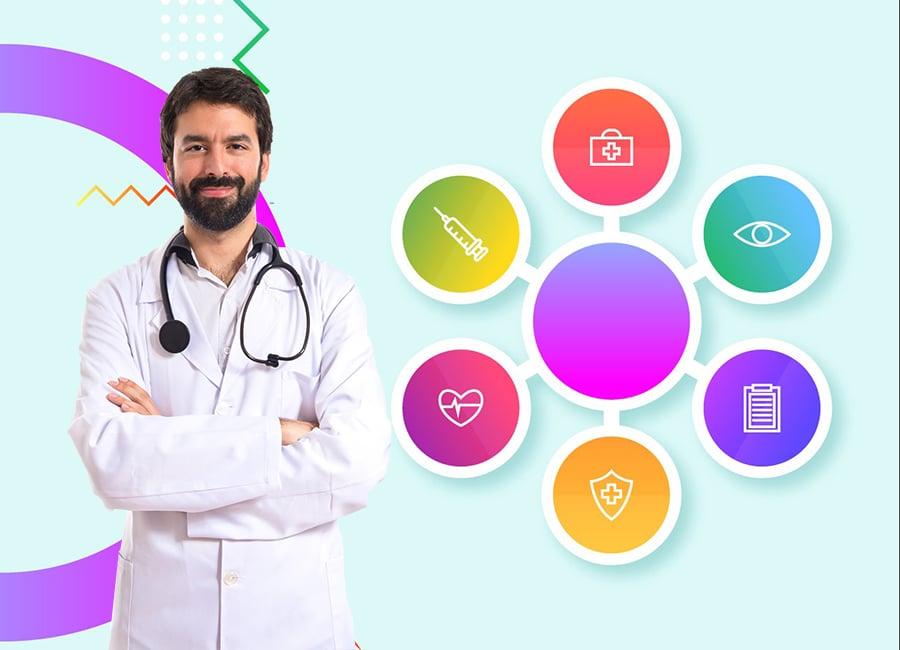 Медицинские цвета – использование цветовой гаммы в дизайне сайта