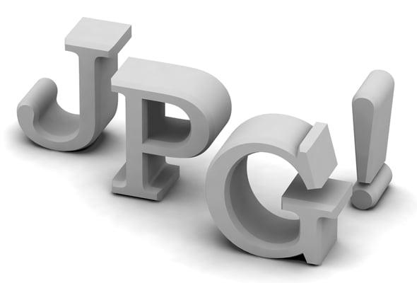 Основные форматы изображений - jpg