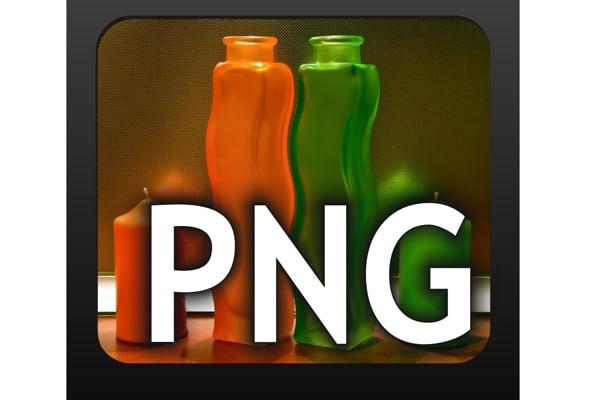 Основные форматы изображений - png