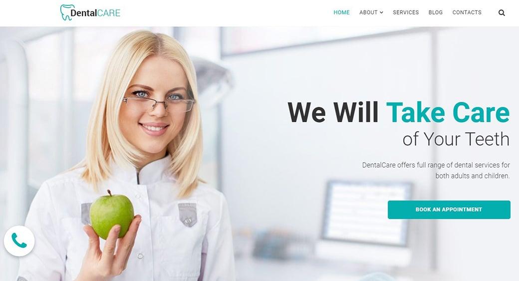 оттенки белого в дизайне медицинского сайта