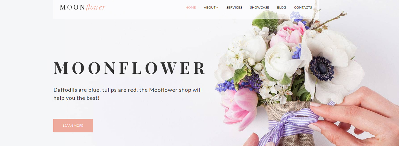 Premium All in One Package for Flowers Website Design