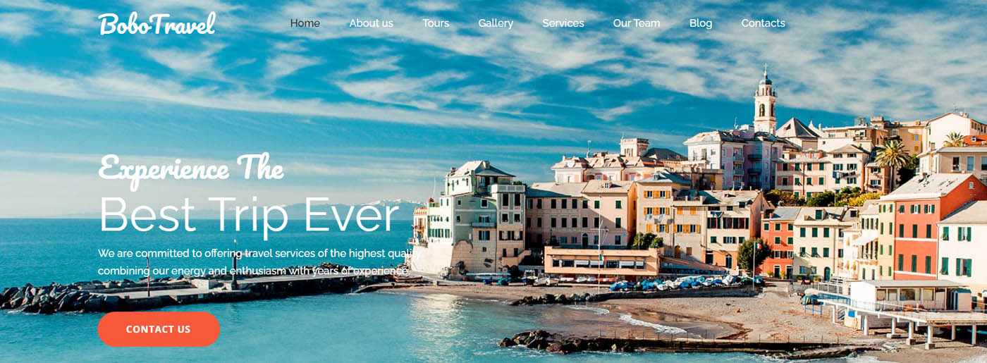 Hotel & Travel Business Template