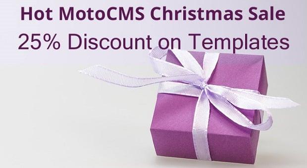 MotoCMS Christmas Sale - main
