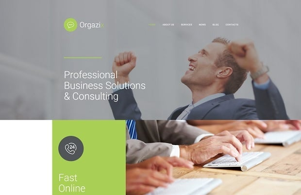 Designing Consulting Agency Website - 56056