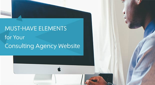 Designing Consulting Agency Website - main